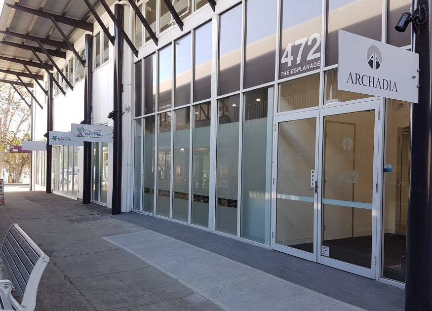 Entrance to practice